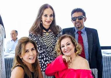Ana Cláudia Libório, Norma Correia, Verinha Luedy e Valterio Pacheco