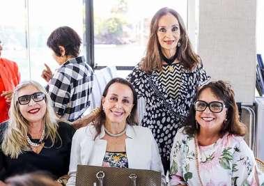 Márcia Pires, Frances Pisanno, Emília Uanús, Verinha Luedy