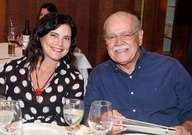 Tércia e Cesar Borges e fotos de Valterio