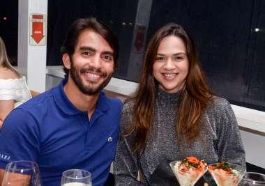 Alberto Nunes e Natália Dourado em fotos de Valterio