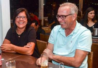 Laura Correia Ribeiro e Alfredo Garcez em fotos de Valteiro