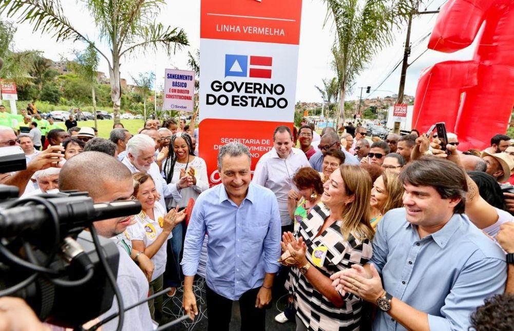 Governador Rui Costa inauguro a 3ª etapa da Av. 29 de março, e diz que, obra melhora qualidade de vida