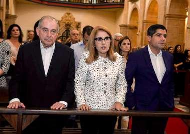 Missa em memória aos 20 anos de saudades do deputado Luiz Eduardo Magalhães