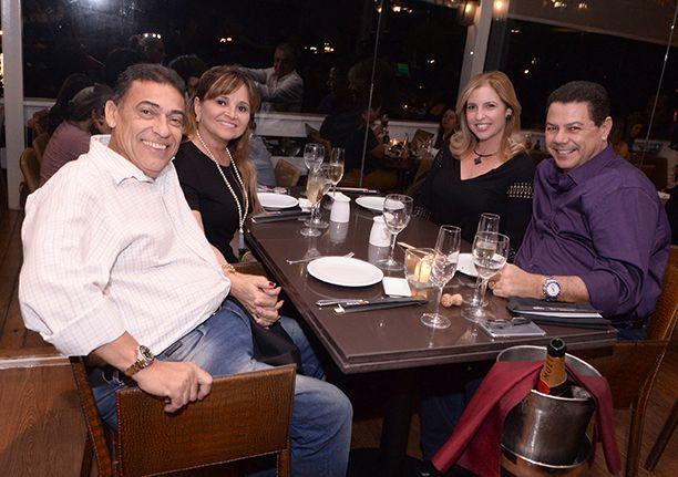 Veja as celebridades que jantaram no Soho no último sábado dia 05 de agosto