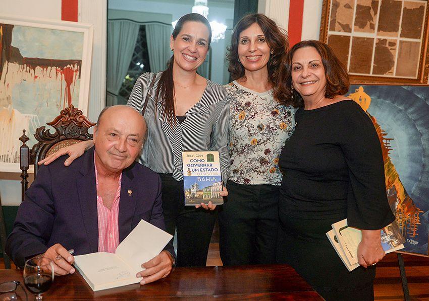 Joaci Góes lançou o seu livro Como Governar um Estado. Veja mais..
