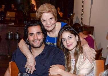Maria Maltez, Romilda e João Ricardo Neto em fotos de Valterio
