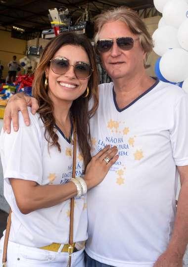 Angélica e Antonio Siqueira em fotos de Valterio