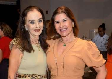 Vera Luedy e Lívia Nogueira Reis em fotos de Valterio