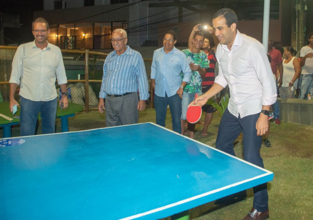 A Prefeitura de Salvador inaugurou hoje dia 20/09, através do Vice-Prefeito Bruno Reis, mais duas Praças no Bairro da Caixa D' Água