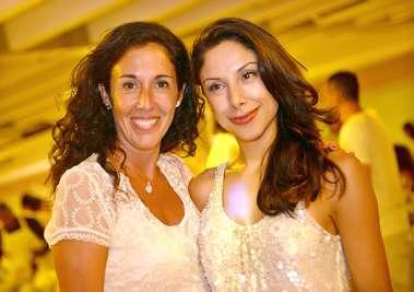 Nadia e Gonzalo de Tourniev eViviana Russo (Consulesas da Espanha e da Argentina) no Reveillon do Yacht Clube da Bahia
