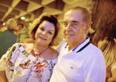 Gel e Walter Pinheiro no Reveillon do Yacht Clube da Bahia