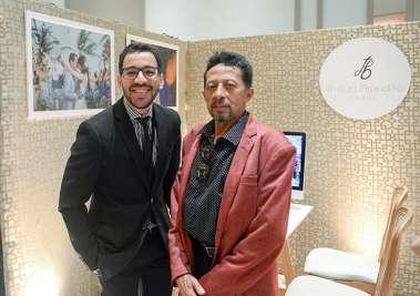 Tiago Brandão da Silva com sue pai Valterio Pacheco da Silva em fotos de Valterio Júnior