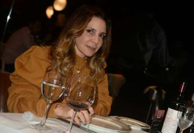 Dra. Alessandra Mattos jantando no Amado