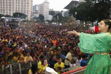 Preta Gil na Arena Nº1 no Rio de Janeiro