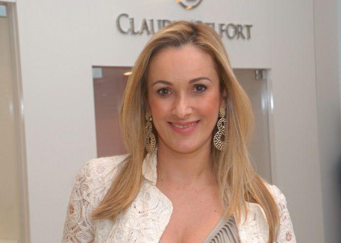 Cláudia Belfort a aniversariante