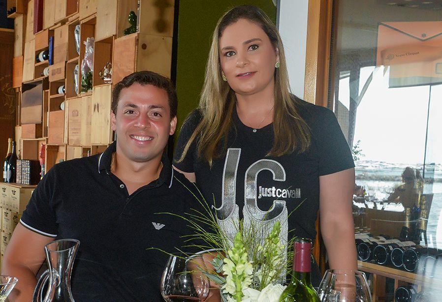 Celebridades Jantando no Bristô Porto Trapiche do Ciro Menezes e Viviane Mendonça