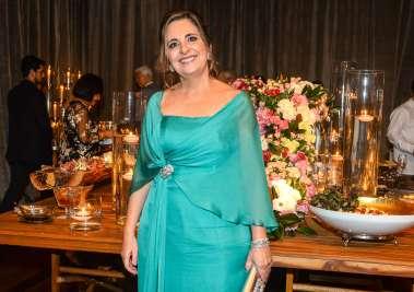 Cristina Ventin mãe do noivo Vector Ventin