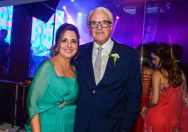 Pais do noivo Cristina e Victor Ventin em fotos de Valteiro