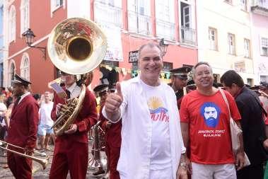 Deputado Nelson Pelegrino  no 2 de Julho em fotos de Valteiro
