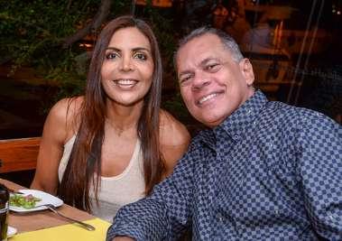 Tatiana Paraiso e João Henrique Barradas Carneiro em fotos de Valterio