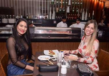 Dentista Mariana Freitas com a advogado Luciana Freitas no Soho de Salvador em fotos de Valterio