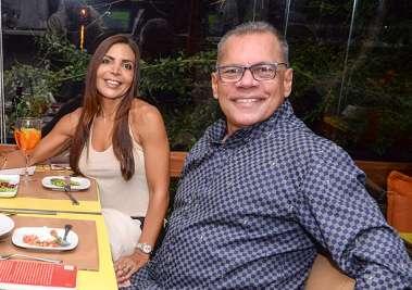 Tatiana e João Henrique Barradas Carneiro em fotos de Valterio