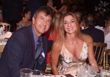 Aline e Governador Rui Costa em fotos de Valterio Pacheco
