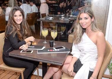 Bruna Jacá e Sarah Godoy no Soho em fotos de Valterio Pacheco