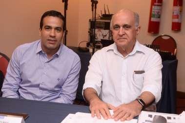 vice prefeito Bruno Reis e Paulo Souto, Sec. da Faz