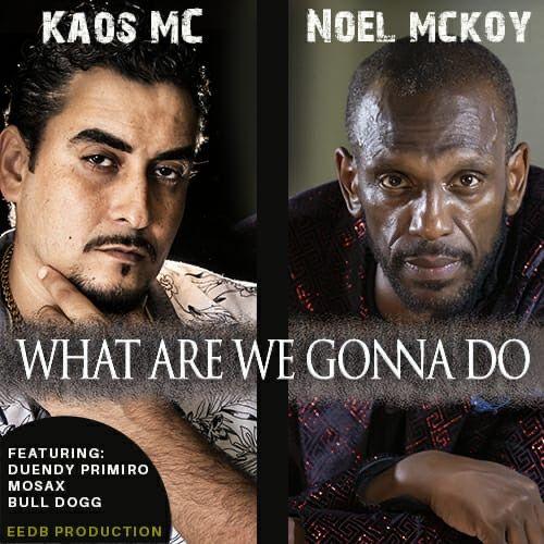 O baiano KAOS MC grava com grande nome da Soul Music Britânico, Noel McKoel