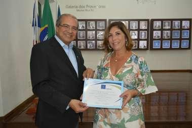 Vlanísia Araújo e Roberto Sá Menezes