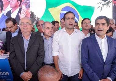 José Antonio Rodrigues Alves, José Ronaldo Carvalho, ACM Jr, Bruno Reis e ACM Neto