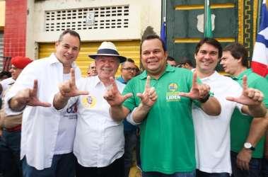 Dep. Nelson Leal, vice governador João Leão, Vereador Geraldo Júnior