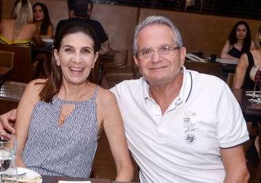 Kátia e Tony Tawil em fotos de Valterio Pacheco