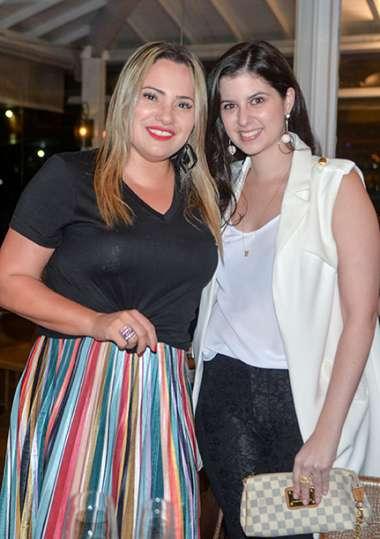 Fernanda Posso e Juliana Bacelar em fotos de Valterio