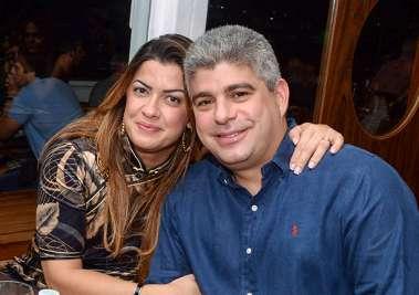 Nádja e Maurício Barbosa secretário de Segurança Pública da Bahia em fotos de Valaterio