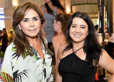 Lenny Niemeyer e Ana Cláudia Libório vibrando com a nova coleção