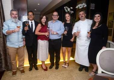 Edson Bomfim, Valdir Leme, Verônica e Ademar, Jaqueline Nogueira,Laurent Rezette e Mariana Machado em fotos de Valterio