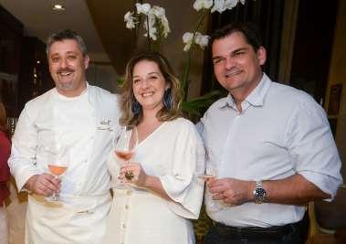 Laurent Rezette, Lorrayne Ricobenne e Marcos Gordilho em fotos de Valterio