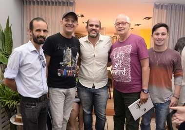 Jornalistas e blogueiros na Ornare