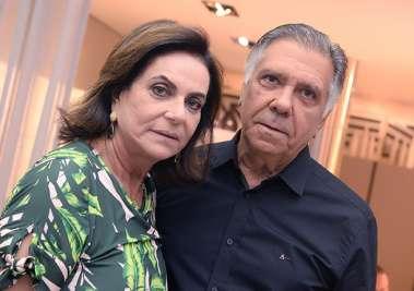 Tita e Carlos Geraldo Souza na Ornare
