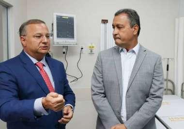 Dr.Fábio Vilas - Boas Secretário de Saúde da Bahia  com o governador Rui Costa na inauguração do Hospital Dia