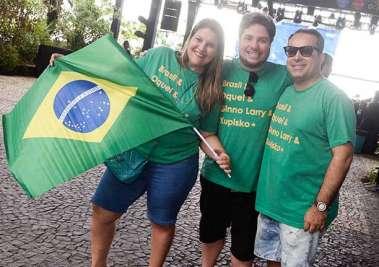 Elane Schindler, Ricardo Cal e Ginno Larry em fotos de Valterio