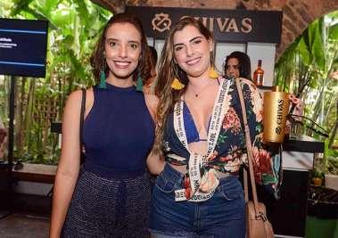 Nathália Oliveira e Lívia Brasileiro em fotos de Valteiro