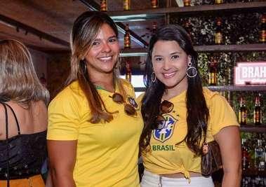 Marcela Mendonça e Ana Luzia Pina em fotos de Valteiro