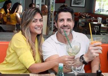 Camila e Leo Mendonça  Santos no Das em fotos de Valteiro