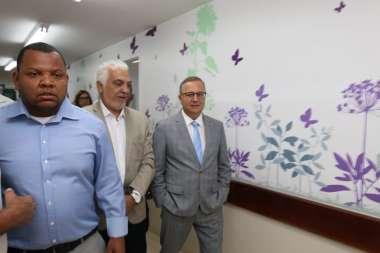 Dr. José Carlos e Dr. Fábio Vilas Boas na inauguração da reforma da UPA 24h em São Caetano