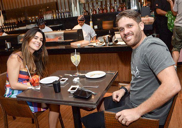 Veja celebridades jantando dia 18 de agosto nos restaurantes Soho e Dass. Click pra ver