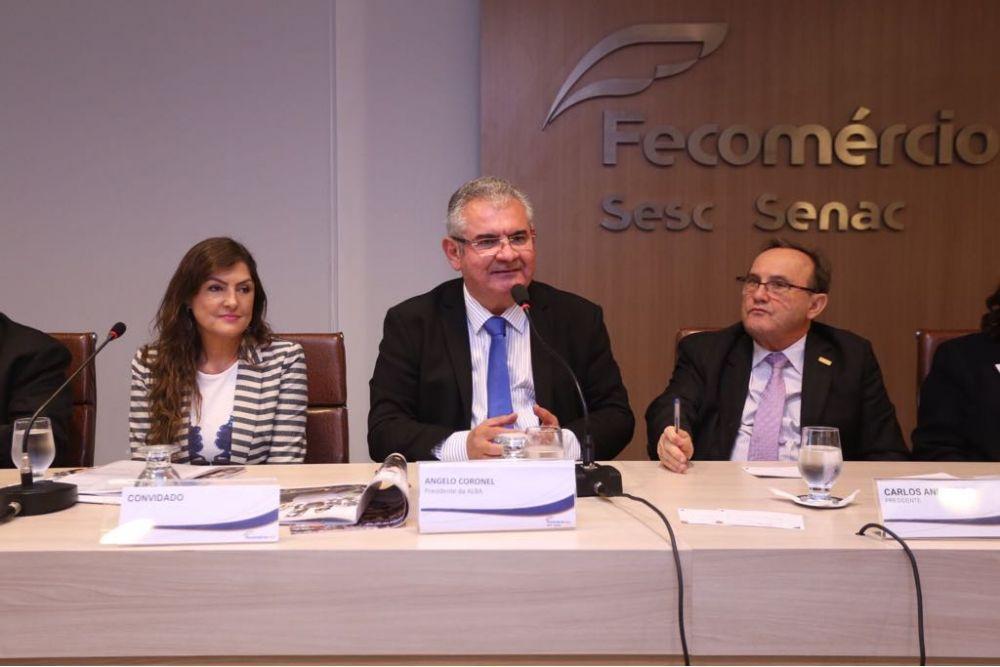 Fecomércio discute 27 projetos de lei da ALBA, sete da Câmara dos Deputados e oito da Câmara de Vereadores