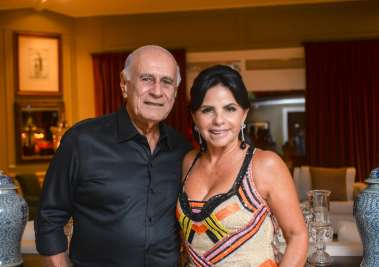 Tina Lima e José Renato Lima em fotos de Valterio